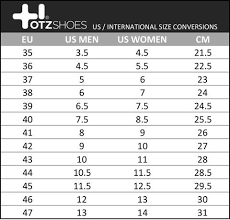 11 Right Shoe Size Chart Europe Usa