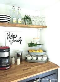 small countertop shelf kitchen storage image via kitchen storage small countertop corner shelf