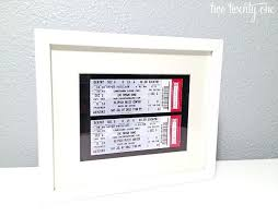 paper anniversary gifts for husband gift ideas diy wedding decorating glamorous framed