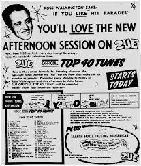 First Australian Top 40 Chart Archives Richard Dinnen
