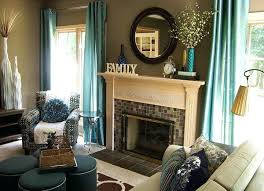 accent colors for beige walls contemporary living room teal and brown decor accent colors