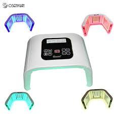 <b>LED Facial Mask Photon</b> Light Energy Therapy Lamp Facial Care ...