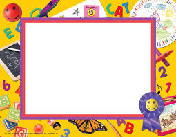 Preschool Border Preschool Kindergarten Border Paper Teaching End Of The Year