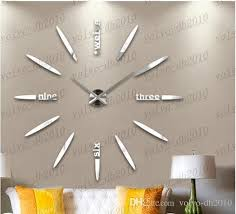 large modern wall clocks new oversized watch wall creative diy modern art wall clock large