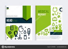 Hospital Flyer Template Medical Brochure Template Vector