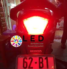 Độ đèn Led xe máy Wave RSX - Denledxe.com