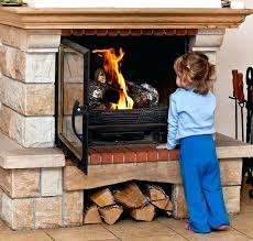 glass fireplace doors safety fireplace leave fireplace glass doors open or closed
