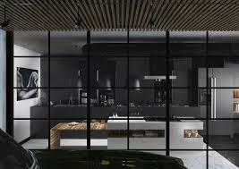 Black Kitchen Chairs Contemporary Kitchen New Elegant Black Kitchen Design For Remodel
