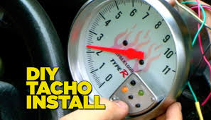 how to install a tacho gauge how to install a tacho gauge