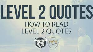 Level 2 Stock Quotes Stunning Level 48 Quotes Understanding Level 48 Stock Quotes Real Time YouTube
