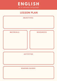 Customize 1,310+ Lesson Plan Templates Online - Canva