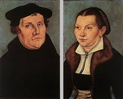 portraits of martin luther and catherine bore 1529 by lucas cranach the elder 1472 1553 germany famous paintings