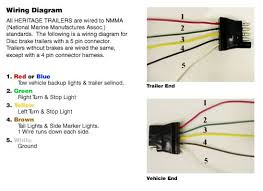 wiring diagram heritage trailers how to wire trailer lights 4 way diagram at Wiring Diagram Lites On A Boat Trailer