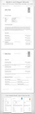 Resume Templates From Graphicriver Page 5