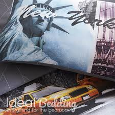 home new york city scene duvet quilt bedding cover and pillowcase bedding set previous next