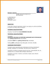 Job Resume Formats Free Download Job Resume Format And Resume Download In Ms Word 24 9