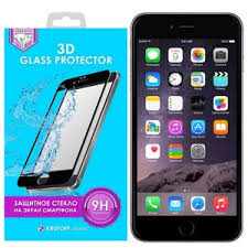 <b>Стекло защитное</b> 3D <b>Krutoff</b> Group для iPhone 6 Plus/6S Plus ...