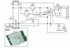 pir motion sensor circuit diagram images pir motion sensor motion sensor system diagram motion circuit and schematic wiring