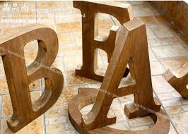 2019 vintage retro large finishing wooden letter home decoration props 23cm high a z standing alphabet from qushimei88 180 11 dhgate com