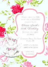 Tea Party Invitations Free Template High Tea Party Invitations Orgullolgbt