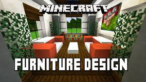 how to make a table in minecraft. Minecraft Tutorial Make Living Room Furniture Modern House How To A Table In
