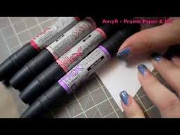 Product Review Letraset Flex Markers