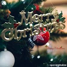 Frohe Weihnachten Alphabet Brief Karte Weihnachten Ornamente