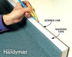 gap between countertop and wall make sure the is parallel to the front of the cabinets gap between countertop and wall