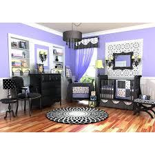decoration purple and black crib bedding blue nursery damask baby