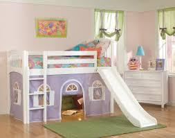 loft with slide. image of: kids loft bed with slide decor m