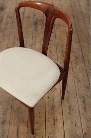 danish set of 8 rosewood juliane dining chairs by johannes andersen