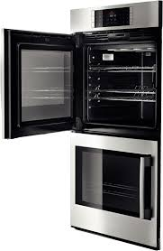 bhblp651ruc benchmark series double electric wall oven stainless steel right swing door at fergusonshowrooms com