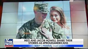 Jacob and Meg Howell share story of life as military family [Video]