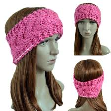 Knit Ear Warmer Pattern Beauteous Crochet Treasures Super Bulky Stacked Cables Ear Warmer