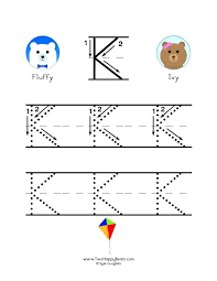 Letter K Practice Letter K Activities For Preschool Lowercase Letter ...