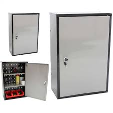 metal storage cabinet with lock. Perfect With Photo 1 Of 4 Wall Mounted Locking Metal Garage Storage Cabinet With Three  Shelves Inside Astonishing Intended Lock E