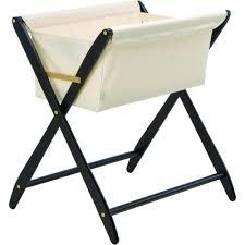 amazoncom  cariboo folding bassinet in mahogany  baby