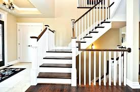 smart interior wood stair railing kits outdoor wooden making