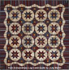 Quilting With Judy Martin -- Lessons, Blocks, and Quilting ... & Civil War reproductions give Main Street Log Cabin a classic feel. Adamdwight.com
