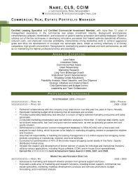 Real Estate Appraiser Resume Simple Real Estate Resume Districte48