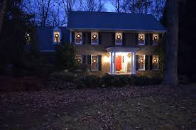 Outside Window Decorations How To Hang Wreaths On Outside Exterior Windows