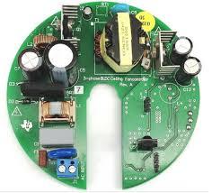 bldc fan motor control based on hall effect sensor input