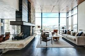 cozy modern living room with fireplace. Cozy Modern Living Room Warm Rustic Designs For A Winter . With Fireplace