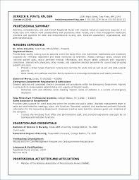 Nursing Objectives For Resume Impressive Objective In A Resume Awesome 48 Inspirational Resume For Nursing