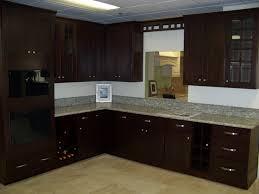 Dark Wood Kitchen Cabinets Dark Brown Kitchen Cabinets Home Depot Quicuacom