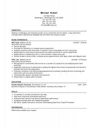 Auto Service Manager Resumes Service Manager Resume