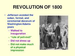 PPT - REVOLUTION OF 1800 PowerPoint ...