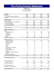 Example Of Profitd Loss Statement For Restaurant Income