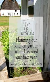 Planning A Kitchen Garden Kitchen Garden Planning The Good The Bad And What I Learned This