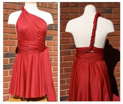 Infinity Dress Pattern Mesmerizing Little Red Infinity Dress Tutorial Sew Like My Mom